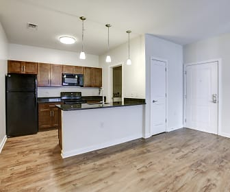 Kitchen, The Fred Apartment Homes
