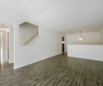 Living Room, Townhomes @ Gateway