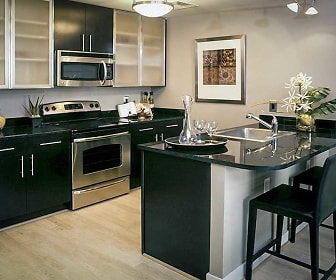 Kitchen, The Woodward Building Apartments