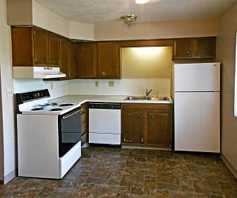 Kitchen, Lakeview Village - Ralston