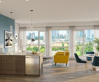Kitchen, Blu Apartments