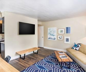Living Room, Vue Apartments