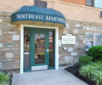 Community Signage, Northeast Apartments