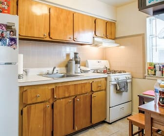 Kitchen, Maple Court Apartments