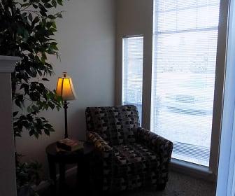 Living Room, The Landings at Edgewater