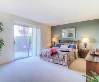 Bedroom, Brooklake Apartments