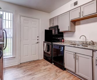 Kitchen, Hillburn Hills Apartments