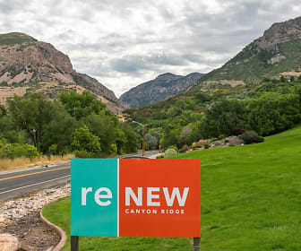 Community Signage, ReNew Canyon Ridge Apartments