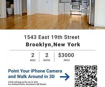 1543 East 19th Street, Midwood, New York, NY
