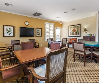 dining area with natural light and TV, Mesa Royale a 55+ Community