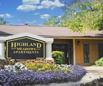 Community Signage, Highland Meadows