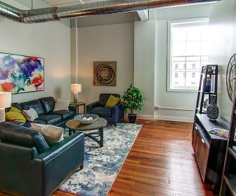 Living Room, Rathbun Lofts