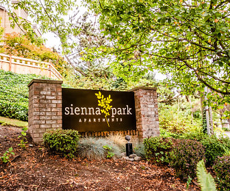 Community Signage, Sienna Park Apartments