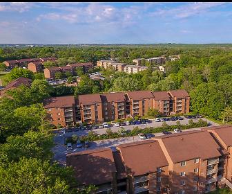 view of bird's eye view, Foxfire Apartments