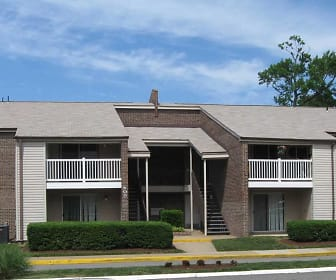 Building, Wesleyan Courts Apartments