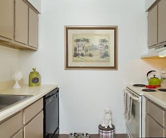 Kitchen, Highland Club Apartments