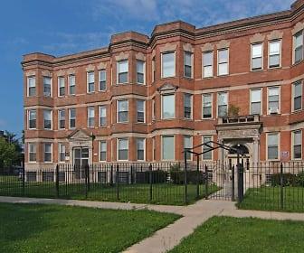 Building, 7152 South Emerald Avenue
