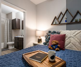 Bedroom, The Domain At Town Centre - Per Bed Leases