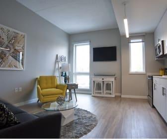 Living Room/Kitchen, 500 Park