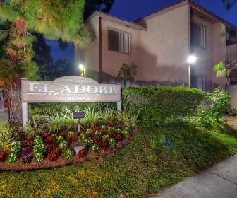 El Adobe Apartment Homes Entrance, El Adobe