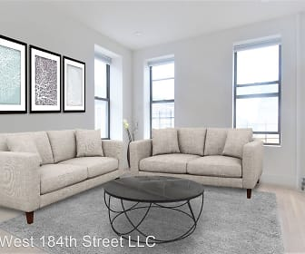Living Room, 602 West 184th Street