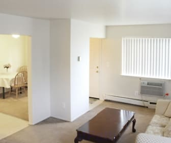 Living Room, Taylor Park Townhomes
