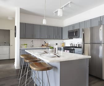 Kitchen, The Berkeley and Quincy Lofts