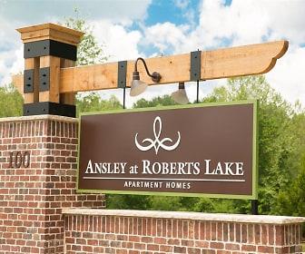 Community Signage, Ansley at Roberts Lake