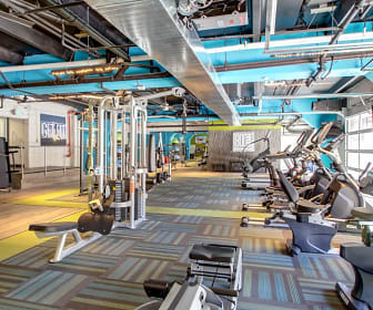 Fitness Weight Room, Arrive at 800Penn