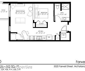 5020 Farwell St., 53558, WI