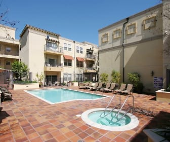 Pool, The Villagio Apartments