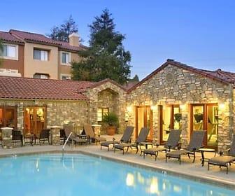 Pool, eaves Rancho Penasquitos