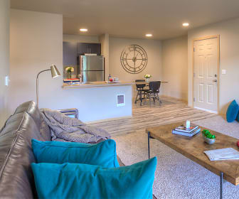 Living Room, Puget Park Apartments