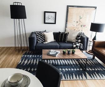 Living Room, 8 Street Apartments