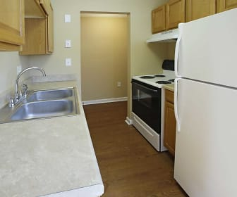 Kitchen, Bloomfield Apartments