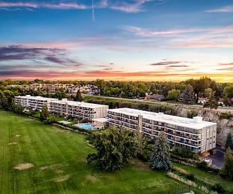 Ariel view, Park View Apartments