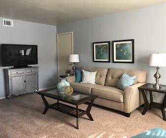Living Room, Shell Garden Apartments