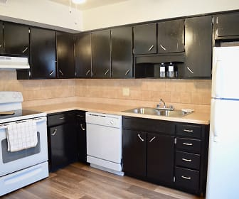 Kitchen, Mayfair Apartments