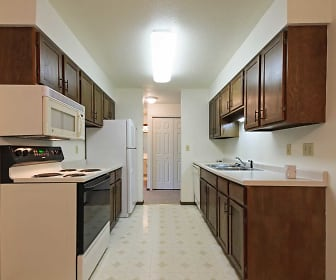 Kitchen, Broadway Apartments