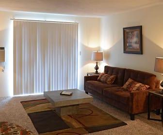 Living Room, Eagle Rock Apartments