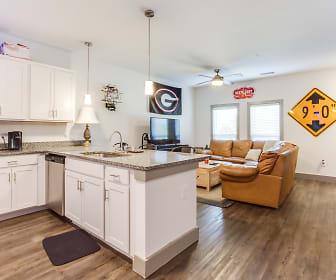 Kitchen, Archer Apartments