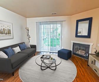 Living Room, Cherry Lane Apartments
