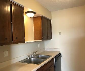 Kitchen, Pear Tree Apartments