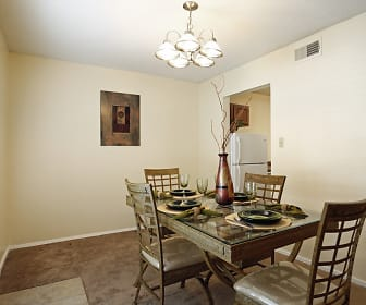 Dining Room, Lakeville Townhomes Community