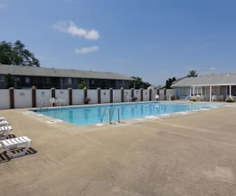 Pool, Indian Springs Apartments and Townhomes