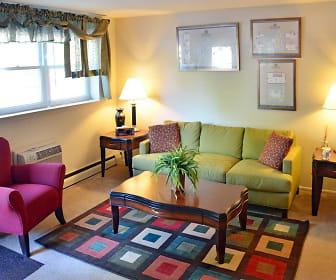 Living Room, Edgewood Apartments