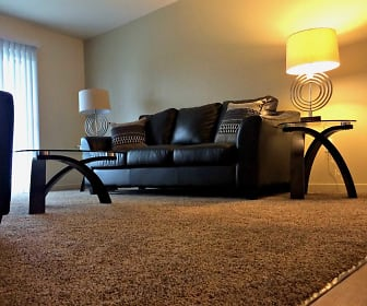 Spacious Modern Living Room, Prosper South Bend