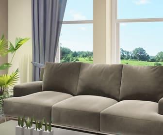 Living Room, River Park Lofts