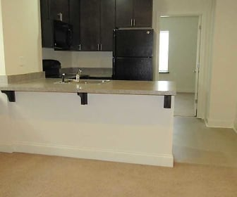 Kitchen, Market View Apartments