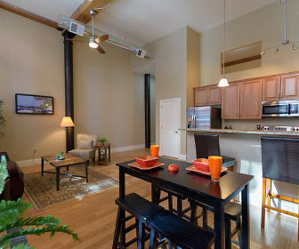 Dining Room, Pacific Mill Lofts